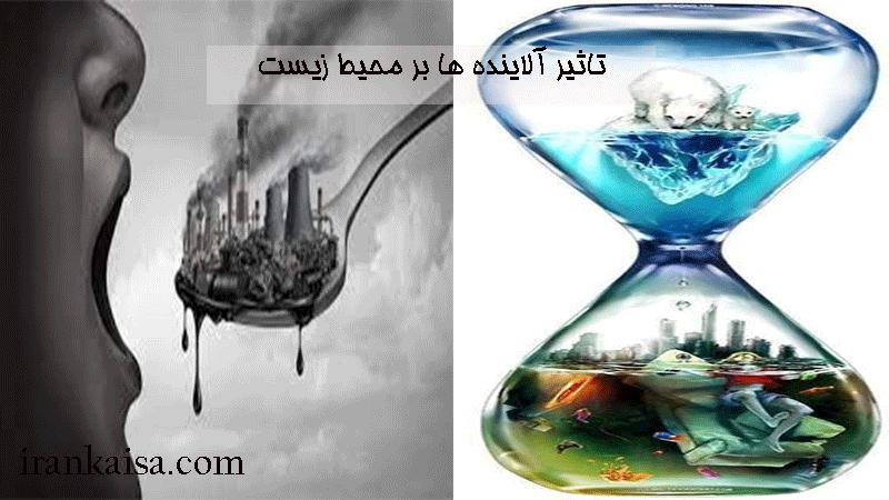 تاثیر آلاینده های زیست محیطی بر زندگی انسان و جانوران